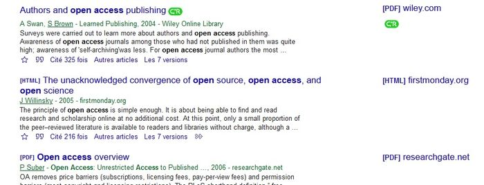 exemple d'insertion de Click and Read